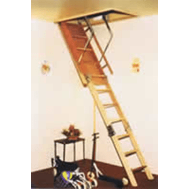Attic / Ceiling Ladders - DOMESTIC RATED - 150KG - Access Meister (Timber)