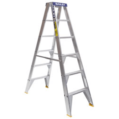 Step Ladders - Bailey - Aluminium Double Sided 150 Kg - Bailey PRO DS