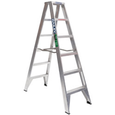 Step Ladders - Bailey - Aluminium Double Sided 150 Kg - Bailey Trade DS