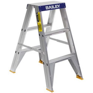 Step Ladders - Bailey - Aluminium Double Sided 150 Kg - Bailey Pro Big Top
