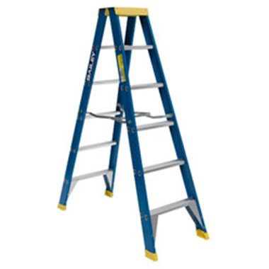 Step Ladders - FIBREGLASS DOUBLE SIDED 150 KG - Bailey RFDS