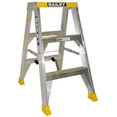 Step Ladders - Bailey - Aluminium Double Sided 150 Kg - Bailey Big Top