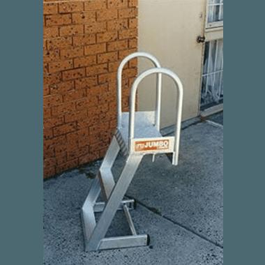 Custom Aluminium Hook-On Tank Ladder