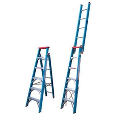 Dual Purpose Ladders - Fibreglass 150Kg - Indalex PRODPF