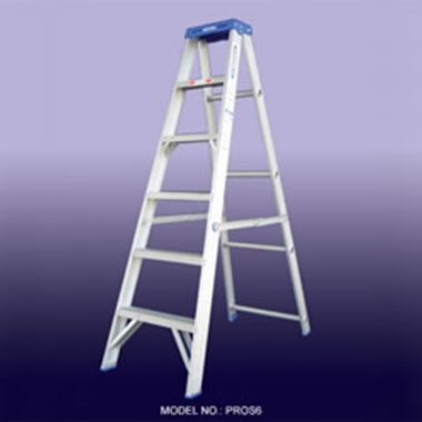Step Ladders - Aluminium Double Sided 180 Kg - Indalex PROS
