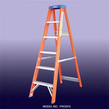 Step Ladders - FIBREGLASS 150 KG - Indalex PROSF
