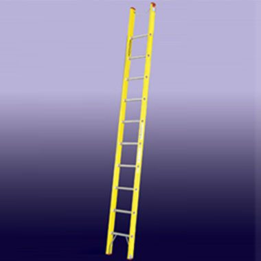 Single / Straight Ladders - Fibreglass 180 Kg - Indalex PROSGF