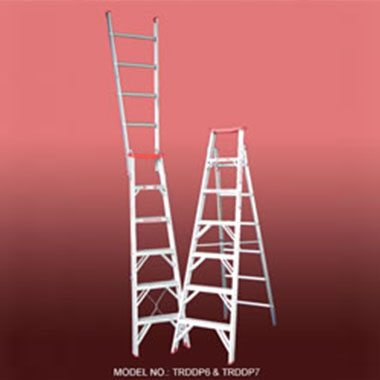 Indalex TRDDP Aluminium Dual Purpose Ladder 135Kg