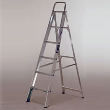 Step Ladders - Aluminium Single Sided 120 Kg - LADaMAX Mighty Max SS