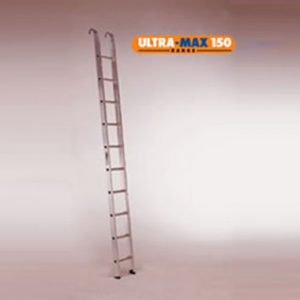 Single / Straight Ladders - Aluminium 150Kg - LADaMAX SI