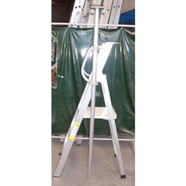 Platform Step with Ceiling Prop