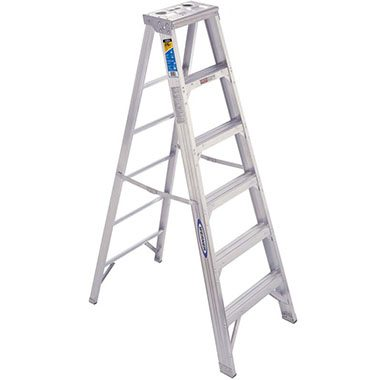 Step Ladders - Aluminium Double Sided 150 Kg - Werner 400AZ