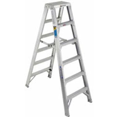 Step Ladders - Aluminium Double Sided 150 Kg - Werner T400AZ